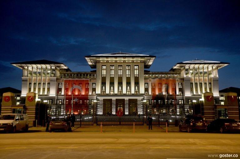Türkiye'nin Yeni Cumhurbaşkanlığı Sarayı Ak-Saray'ın 10 Fotoğrafı