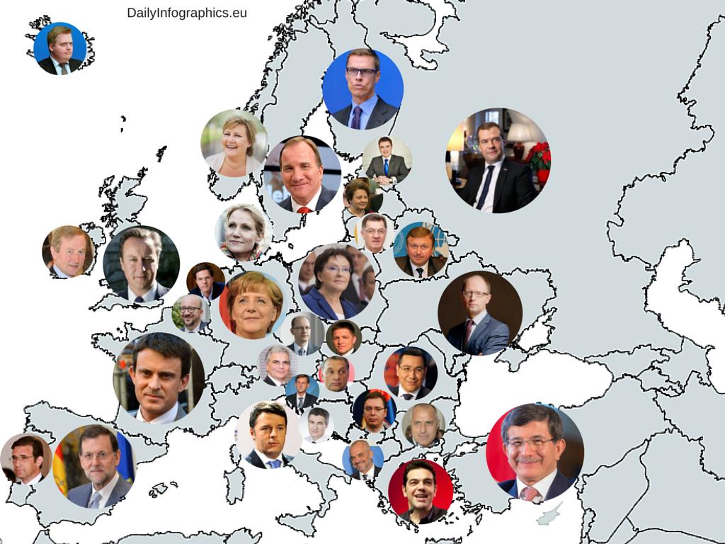 Taksi Renklerinden, Holdinglere Kadar Avrupa'nın Enleri Bu 10 Harita Üzerinde