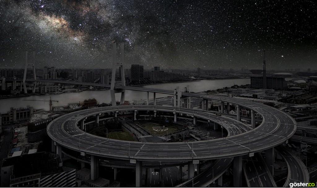 """Dünya'nın Dört Bir Yanından, Büyük Şehirler """"Aydınlatmasız"""" Olsa Nasıl Görünürdü?"""