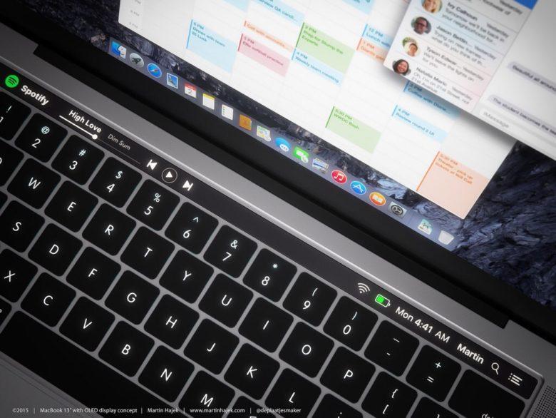 macOS Sierra'daki Yeni Bulgular, Macbook Pro için OLED Ekran ve Touch ID İddialarını Güçlendiriyor