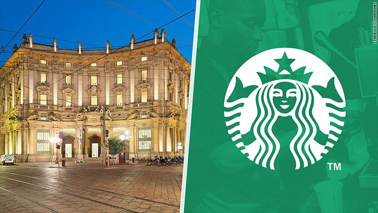 Starbucks'tan Tarihi Karar: İtalya'da İlk Şubesini Açıyor