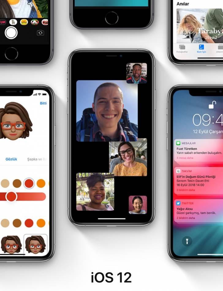 iOS 12 Yazılım Güncellemesindeki Yeniliklerin Tam ve Açıklamalı Listesi