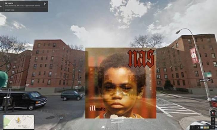 İkonik Hip-Hop Albüm Kapaklarının Çekildiği Yerleri Google Maps'te Bulmuşlar