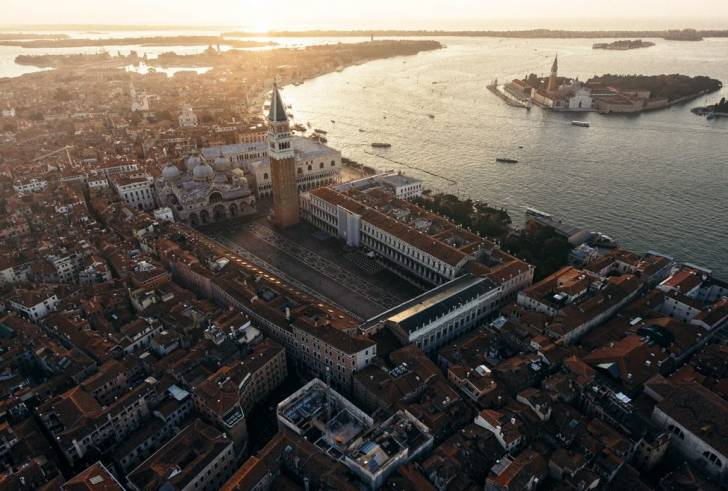 Dimitar Karanikolov'un Havadan Görüntüleri, Tamamiyle Yeni Bir Venedik Perspektifi Sunuyor