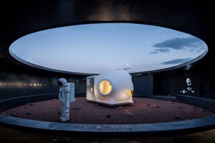 Mars Konseptli Ev: Mars'a Gitmeden Mars'ta Yaşam Deneyimi (Xiaomi Ortaklığıyla İnşa Edildi)