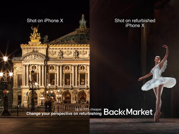 Bu kuntiz reklamlar, sıfır ve yenilenmiş (refurbished) bir iPhone arasındaki temel farkı gösteriyor