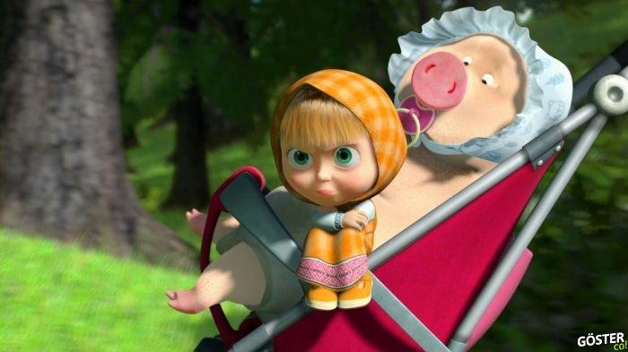 Uslanmayan Rus Bebek Masha ve Ayı (Çizgi Film)