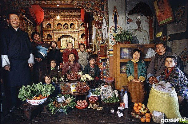 21 Fotoğraf ile Türkiye ve Dünya'nın Çeşitli Ülkelerinden İnsanların Haftalık Yiyecek Alışverişi