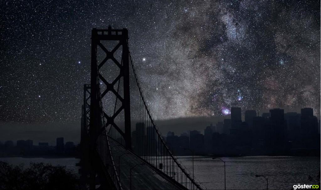 Büyük şehirler 'aydınlatmasız' olsa nasıl görünürdü?