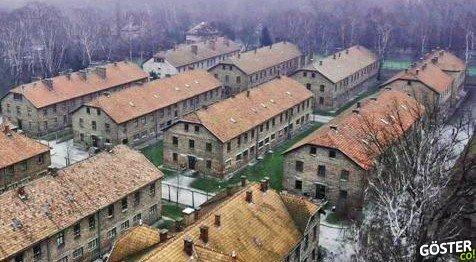 Nazi Almanya'sının En Büyük Toplama Kampında Drone ile Gezinti