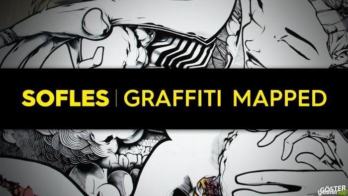 Graffiti Haritalama Yöntemi ile Dev Duvarda Müthiş Sokak Sanatı İcraası