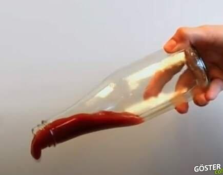 Şişe dibinde kalan ketçap, mayonez sorunu, bu teknolojiyle son bulacak