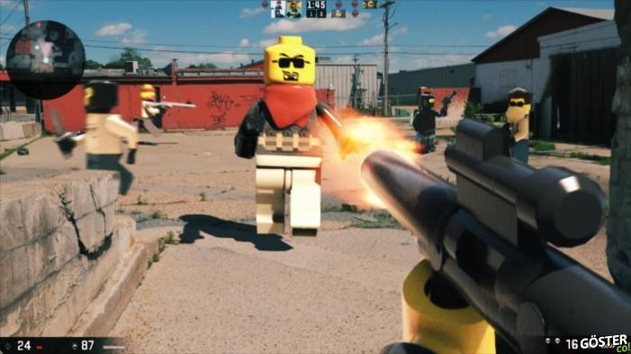 LEGO, FPS Oyun Olsaymış Tadından Yenmezmiş Dedirtecek Parodi