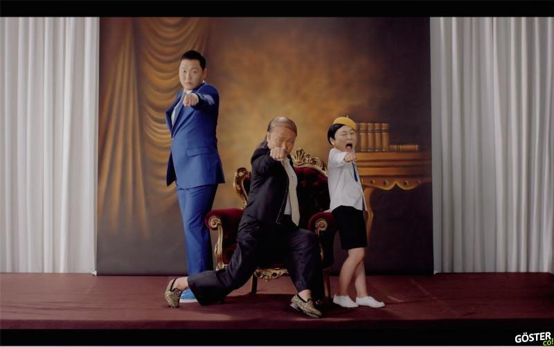 """Milyar İzlenen Gangnam Style'ı Yaratan PSY'nin Yeni Bombası """"Daddy"""""""