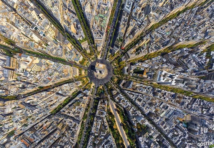Dünyanın Dört Bir Tarafından, Kuş Bakışı Şehirler