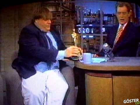 Chris Farley'nin 95 Yılında Letterman'a Giriş Hareketi