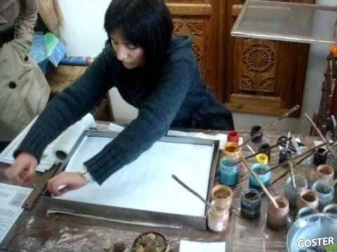 Suda Boya Yapmak (Ebru Sanatı) Dünyaya Açılıyor
