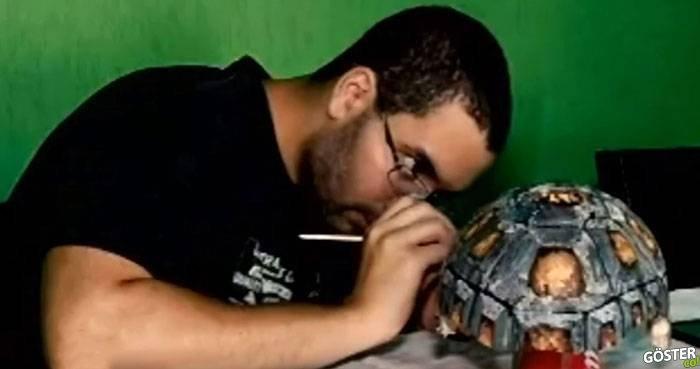 Kabuğu Kırılan Kaplumbağaya Kabuk Modelleyip, 3 Boyutlu Yazıcı ile Üretmek