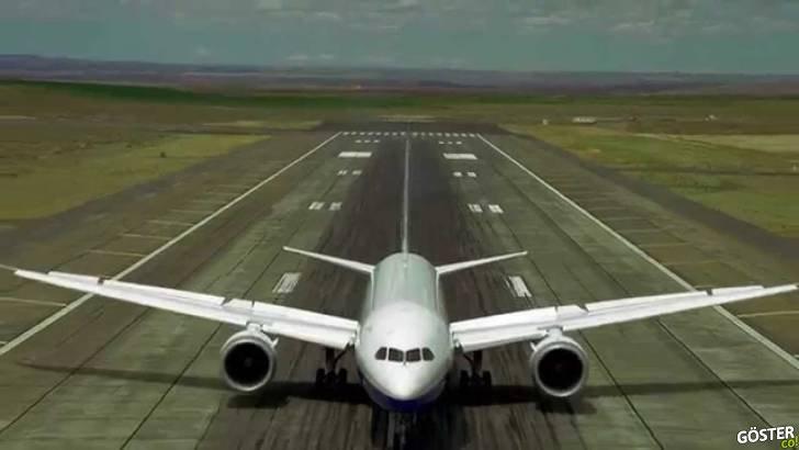 Boeing 787-9 Dreamliner'ın Farnborough Hava Şovu Hazırlıkları (Dikkat: Bu Bir Yolcu Uçağı)