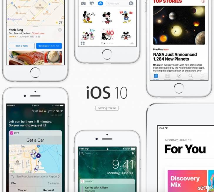 iOS 10'u İlk Deneyimleyen Twitter Kullanıcılarının Tepkileri ve Tespitleri