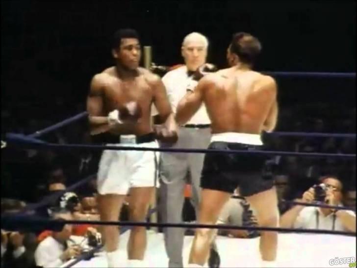 Muhammed Ali'nin Ringdeki Rakiplerini Kızdıran Milisaniyelik Hızda Refleksleri