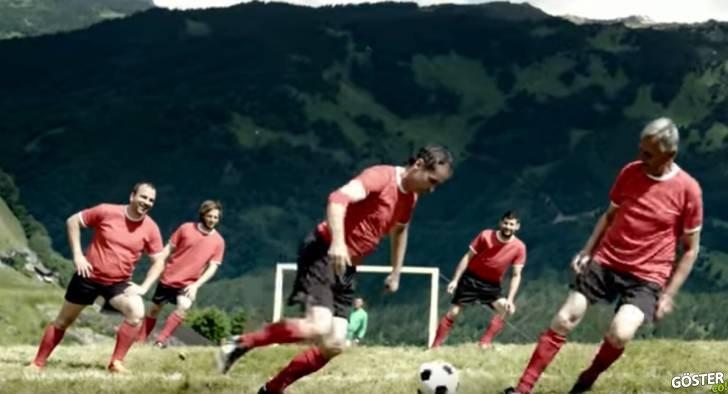 Yüksek Dağlarda, Eğri Zeminde Oynanan Bu Futbol Oyununda Olmak İsteyebilirsiniz
