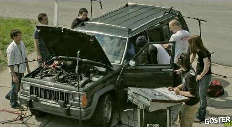 Hayatım Boyunca İzlediğim En İyi Şeylerden: Bir Müzik Aleti Olarak Jeep