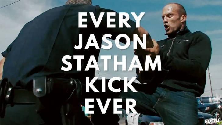 Jason Statham'ın Oynadığı Tüm Filmlerdeki Bütün Tekme Sahneleri
