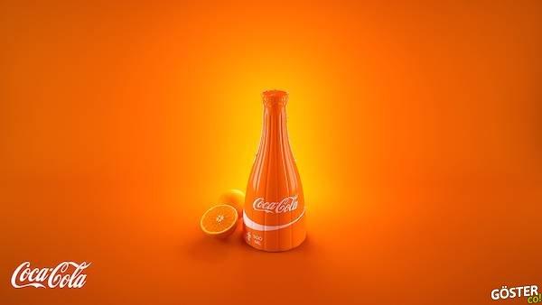 Coca-Cola Eğlenceli Meyveli İçecekler Üretseydi Şişeleri Nasıl Olurdu?