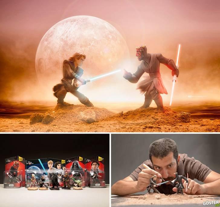 Müthiş İmgeleme Gücüyle Küçük Oyuncakları Fotoğraflayan Sanatçının En İyi 8 Çalışması