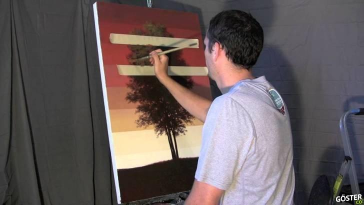 Muhtemelen Şimdiye Dek Gördüğünüz En Havalı Ağaç Resmi ve İlginç Çizim Tekniği