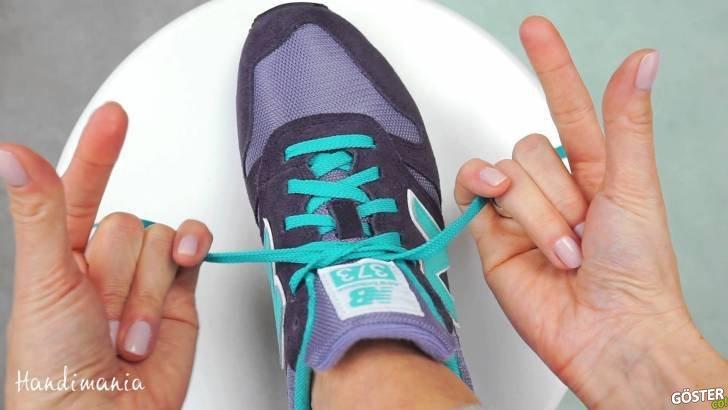 Bu Teknik ile Ayakkabılarınızın Bağcıklarını Sadece 2 Saniyede Bağlamanız Mümkün