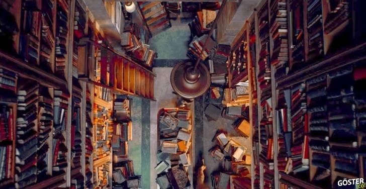 Bu Müthiş Film Kolajı Dünya'daki En Huzurlu Yerleri, Sahaf ve Kütüphaneleri Gösteriyor