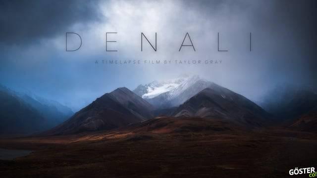 Denali Ulusal Parkı'nın En Güzel Mevsimde Çekilmiş Hızlandırılmış Görüntüleri