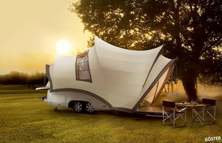 Muhteşem Kamp Çadırları: En İyi 9 Yenilikçi Çadır Tasarımı
