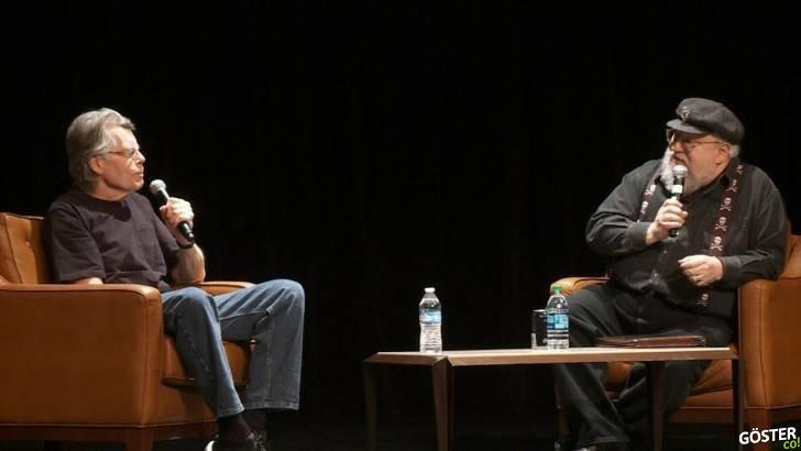 """George RR Martin, Stephen King'e """"Nasıl Bu Kadar Çok Yazabiliyorsun?"""" Diye Soruyor"""