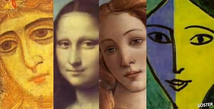 500 Yıllık Kadın Portre Çizimleri 3 Dakikaya Sığdırılırsa