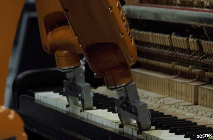 Robotlardan Oluşan Bir Müzik Grubu ve Eserleri: Automatica