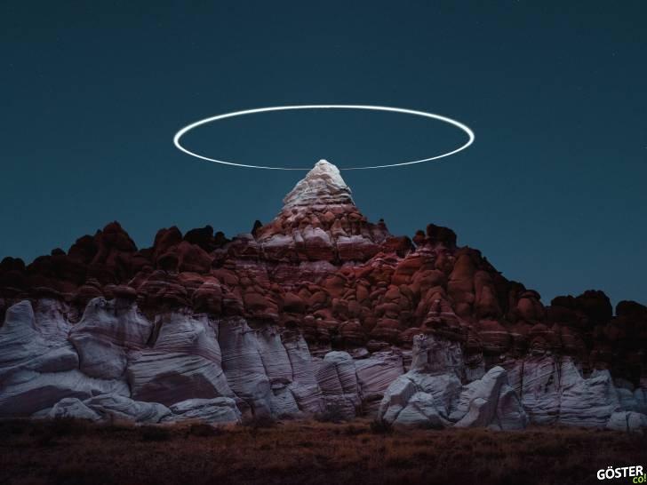 """Dronelar ile Yakalanan Uzun Pozlama Fotoğraflarla Dağlık Manzaraların Üzerindeki """"Olmayan"""" Yollar"""