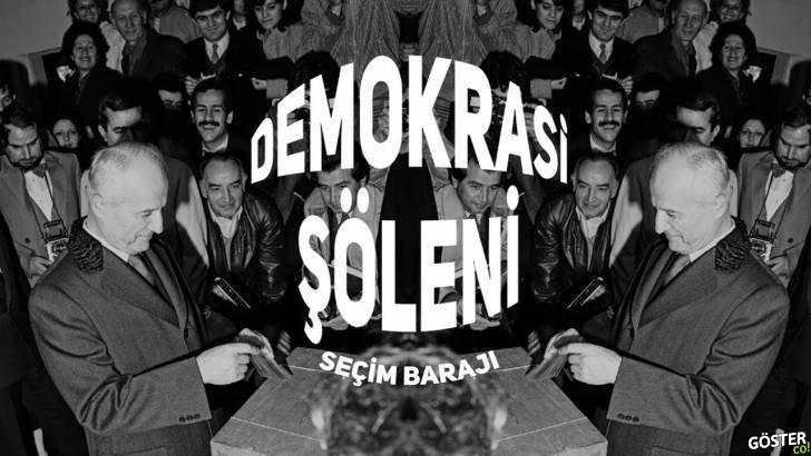 """Demokrasi Şöleni: """"Seçim Barajı"""" Belgeseli"""