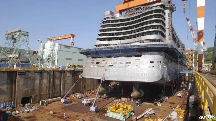 Hızlandırılmış Yolcu Gemisi İnşaatı ile Bir Gizem Son Buluyor