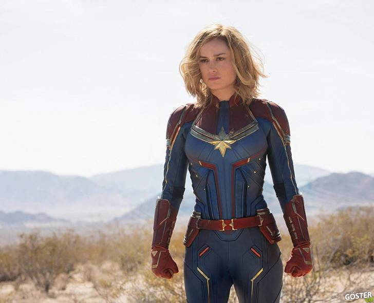 """2019'da Vizyona Girecek Olan """"Captain Marvel"""" Filminin İlk Fragmanı Yayınlandı"""