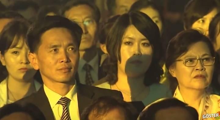 Kuzey Kore'li Seyircilerin, Güney Kore'li Grubu Seyrederkenki Tepkileri