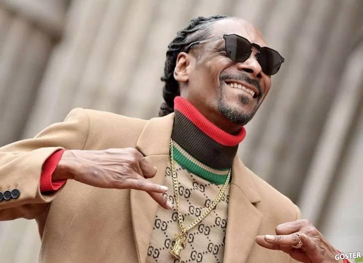 Snoop Dogg, Şöhret Kaldırımı'na Yıldızının Yerleştirildiği Törende 7 Kez Kendine Teşekkür Etti