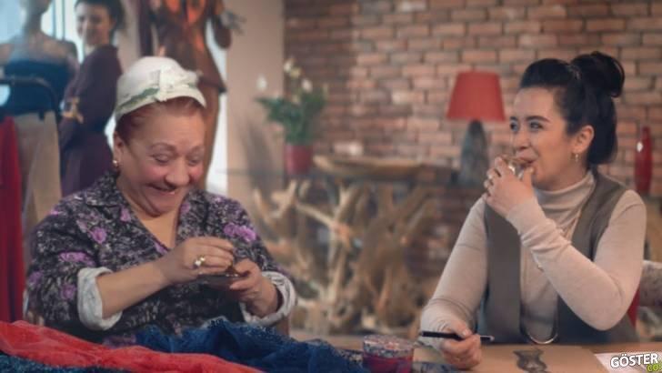 Ziraat Bankası'nın Yeşilçam Yıldızlarını Canlandırdığı Reklam Filmi