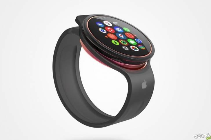 """Apple'ın Bu Yıl Piyasaya Sürme İhtimali Olan """"Yuvarlak Apple Watch"""" Konsepti (Esinlendiği Şey Çok Şaşırtıcı)"""