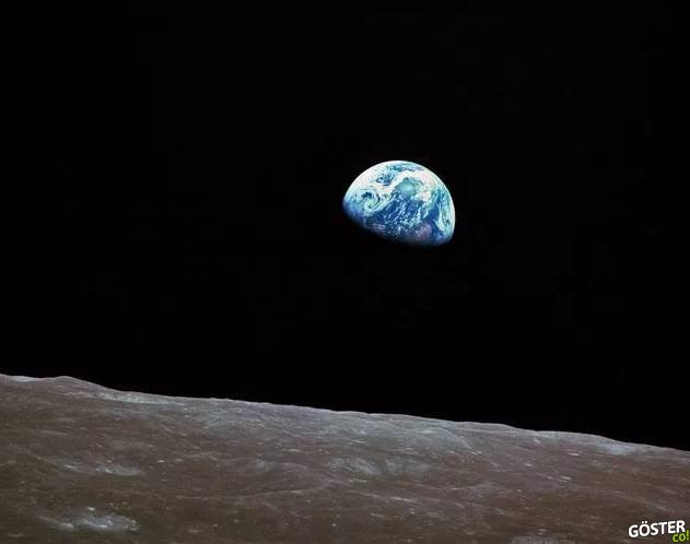 """""""Dünya'nın doğuşunu"""" görmemizin üzerinden 50 yıl geçti"""
