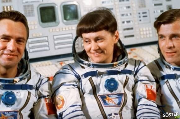 NASA, kadın astronotun bedenine uygun kıyafet bulamayınca onun yerine uzaya erkek gönderildi