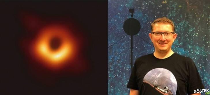 """NASA'da çalışan Dr. Umut Yıldız, """"Kara Delik"""" fotoğrafından ne anlamamız gerektiğini yalın bir dille anlatmış"""