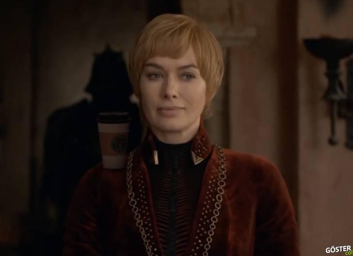 Game of Thrones'ta unutulan kahve bardağı ile dalga geçilen efsane parodi montaj